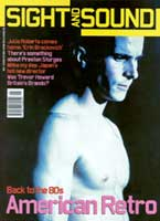 Cover of Sight & Sound May 2000.