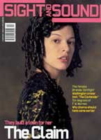 Cover of Sight & Sound February 2001.