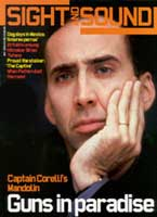 Cover of Sight & Sound May 2001.