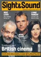 Cover of Sight & Sound October 2002.
