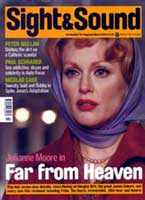 Cover of Sight & Sound March 2003.