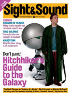 Cover of Sight & Sound May 2005.
