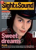 Cover of Sight & Sound August 2005.