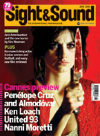 Cover of Sight & Sound June 2006.