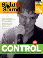 Cover of Sight & Sound October 2007.