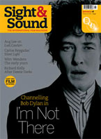 Cover of Sight & Sound January 2008.