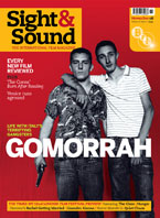Cover of Sight & Sound November 2008.