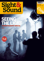 Cover of Sight & Sound April 2009.