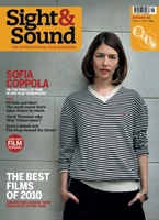 Cover of Sight & Sound January 2011.