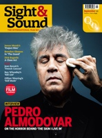 Cover of Sight & Sound September 2011.
