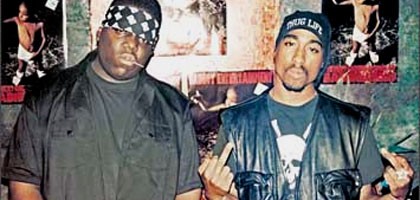 Film still for Biggie and Tupac