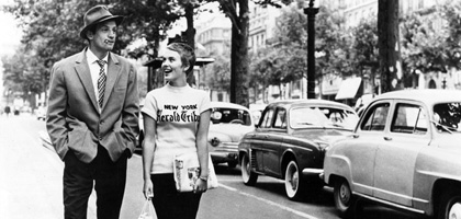 Film still for DVD review: Breathless
