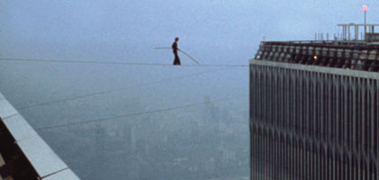 Film still for Man on Wire
