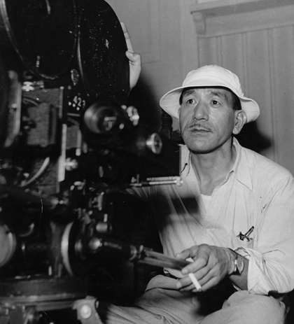 Film still for Ozu Yasujiro, tofu maker