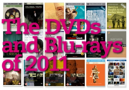 The DVDs and Blu-rays of 2011